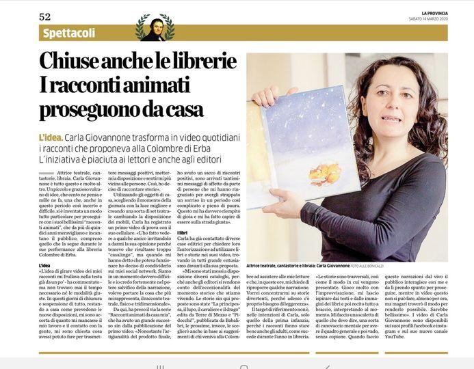 La Provincia, Digene, Carla Giovannone